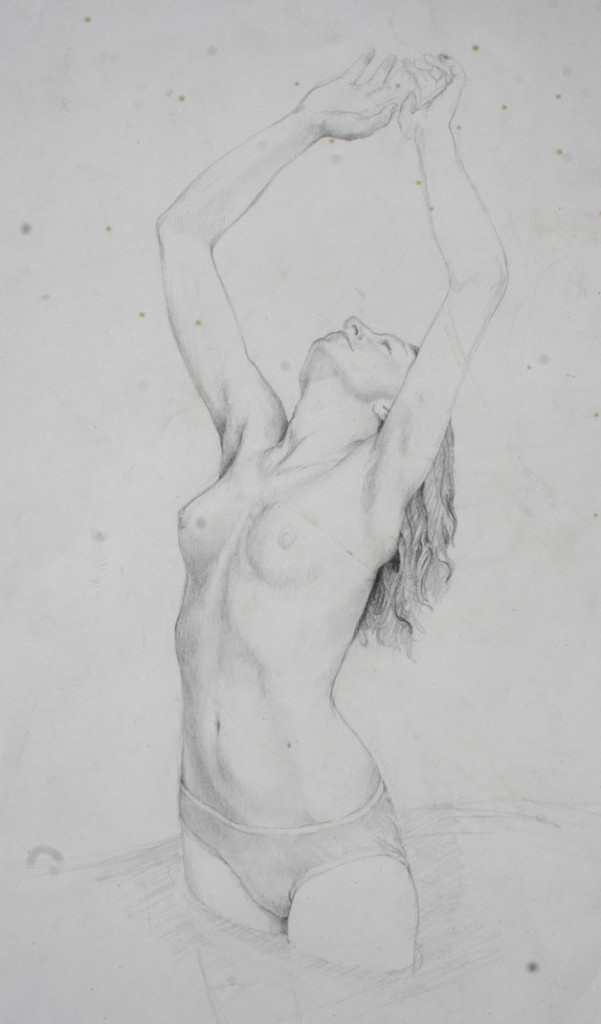 figure study for Water Dance