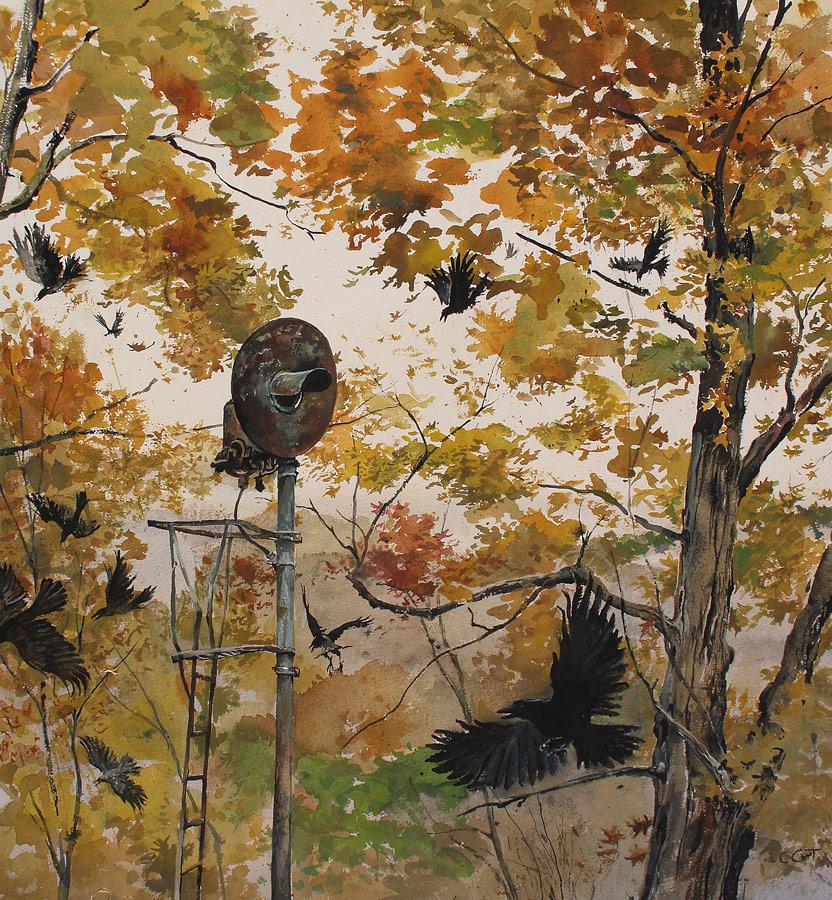 october-crows