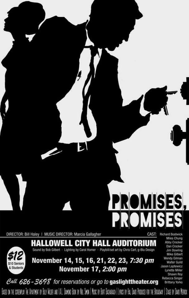 Playbill design for Promises, Promises
