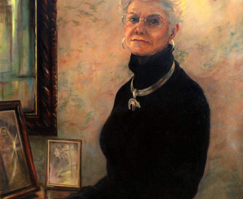 Oil Portrait – Judy Wathen