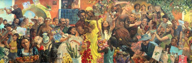 Dance of Two Cultures Mural – Brunswick, ME