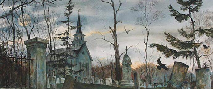 November Churchyard