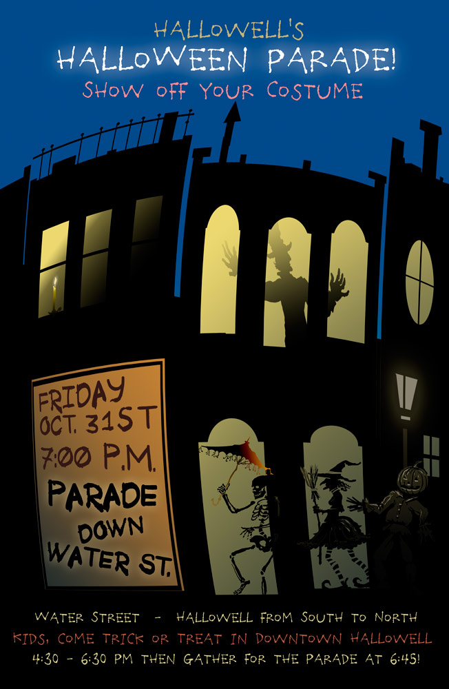 Halloween Parade Poster