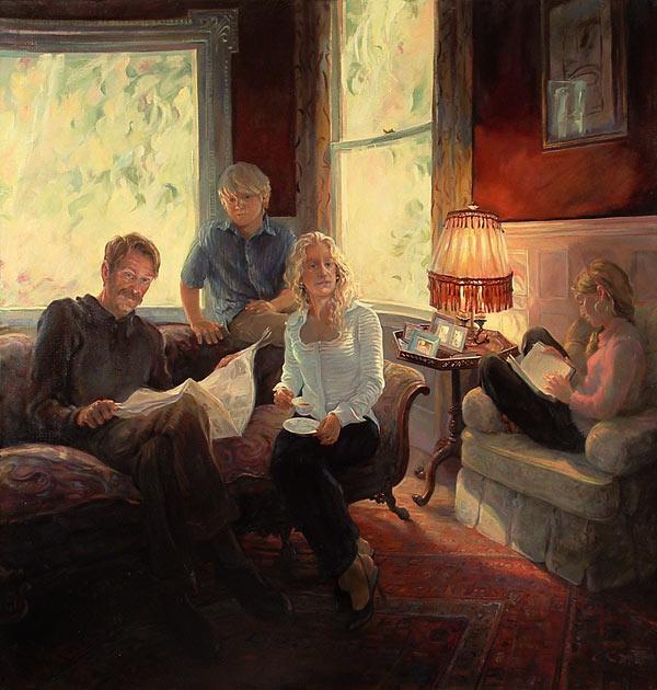 """Sunday Morning"" Langsdorf Family Portrait"