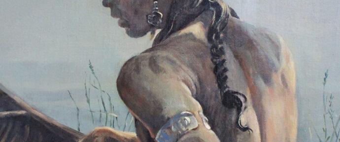 Kennebec Mural, Abenaki