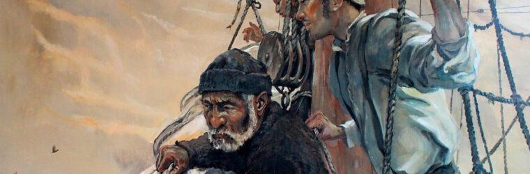 Kennebec Mural , seamen