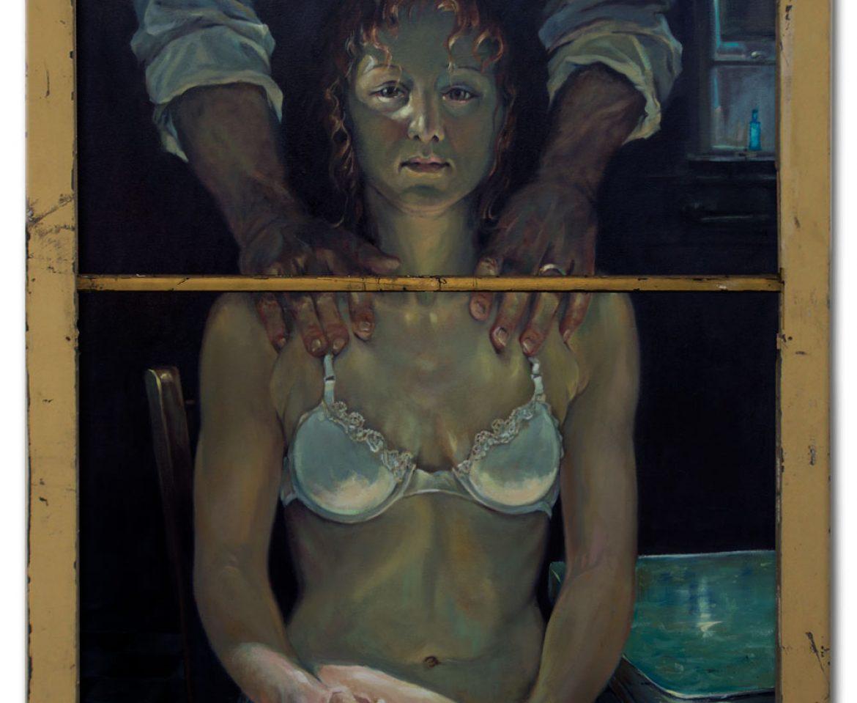 Inside, oil on canvas