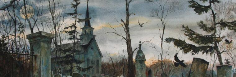 Autumn Cemetery
