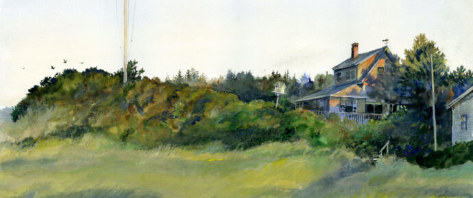 Sunrise, Bev's Cottage, 20 years later