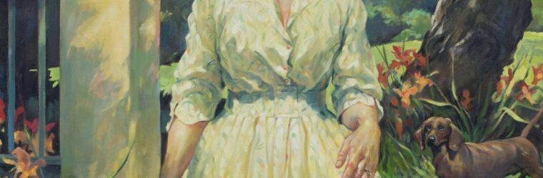 Portrait of Elsie Viles