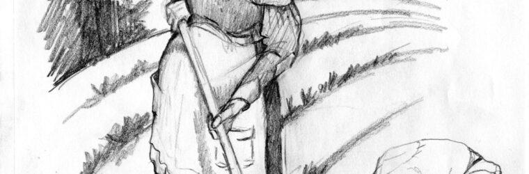 drawing studies | Hallowell Mural