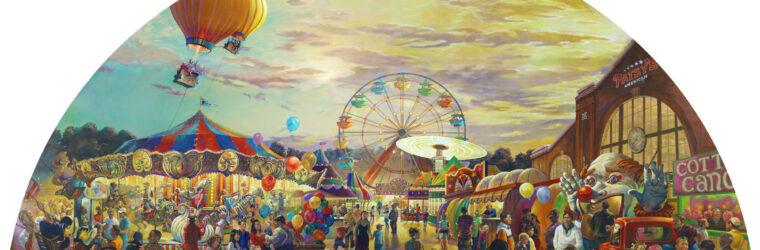 Carnival mural, final