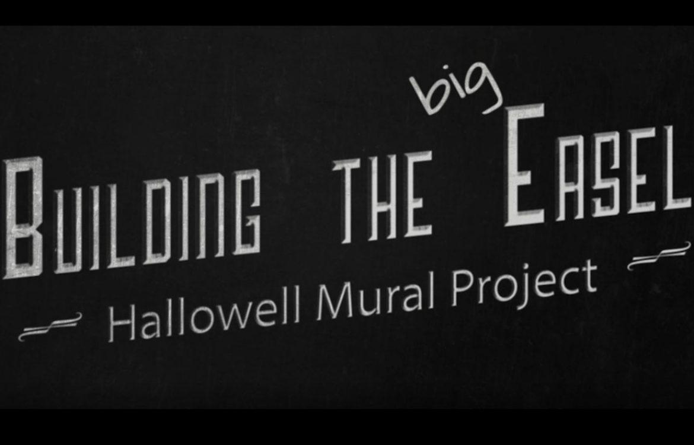 "Building mural ""easel"""