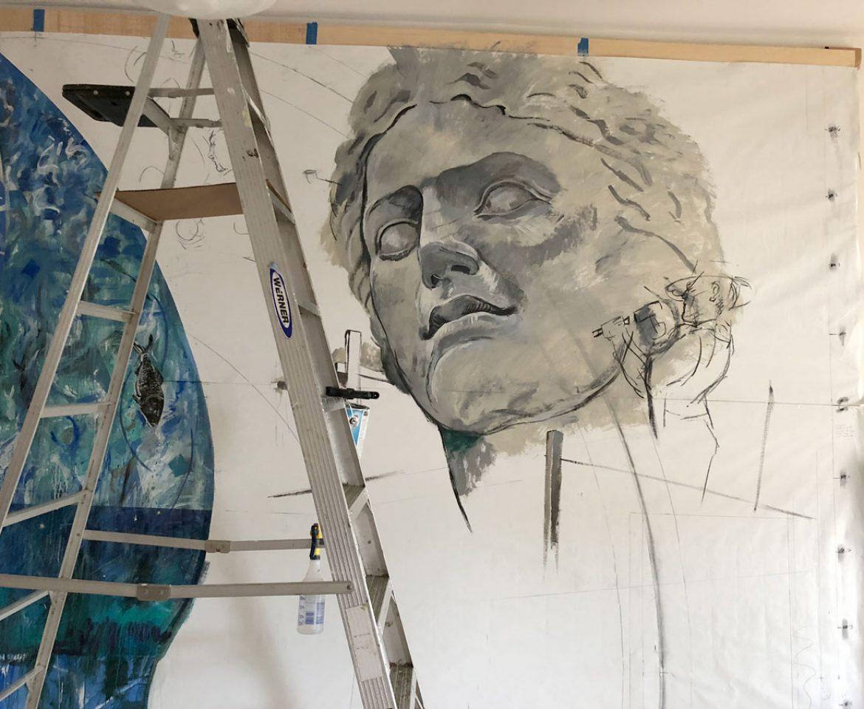 a few mural details