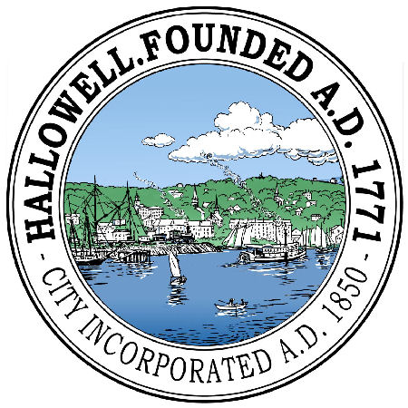 Official Hallowell City Seal