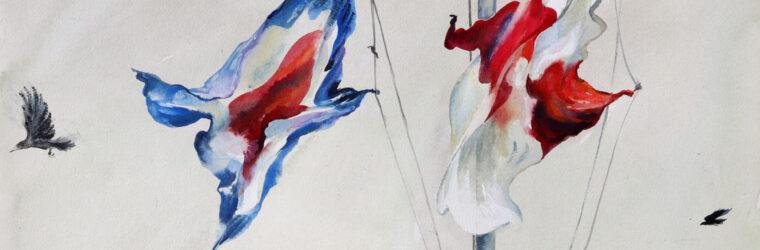Fair Winds, watercolor